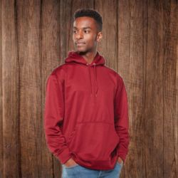 5505 Adult Wicking Fleece Hooded Sweatshirt Thumbnail